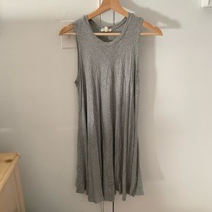Urban Outfitters Heather Gray Swing Dress